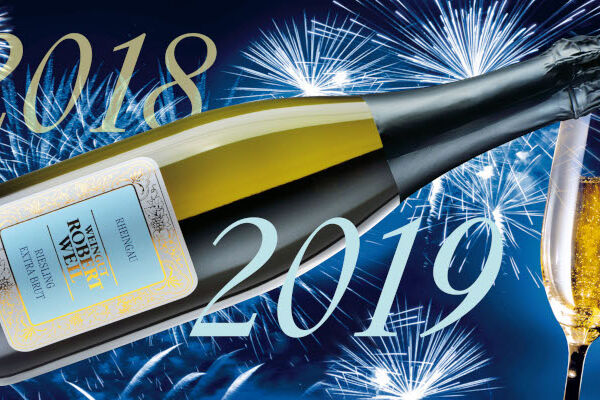 Here's to a happy and healthy 2019 from all of us at Weingut Robert Weil!