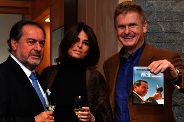 Michel Rolland, surely the world's best-known enologist, visits Weingut Robert Weil