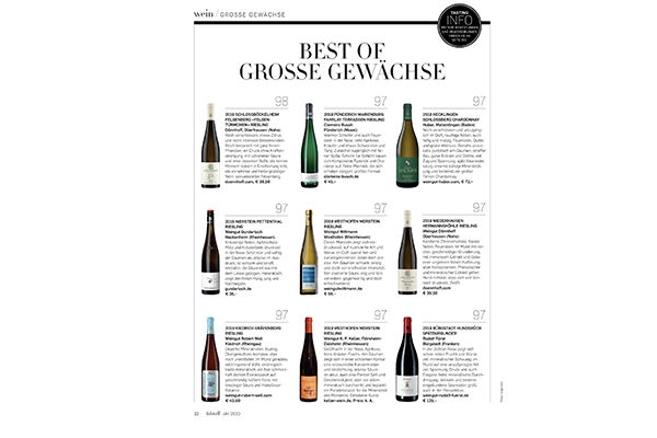 Best of Grosse Gewächse Falstaff | Oct 2020