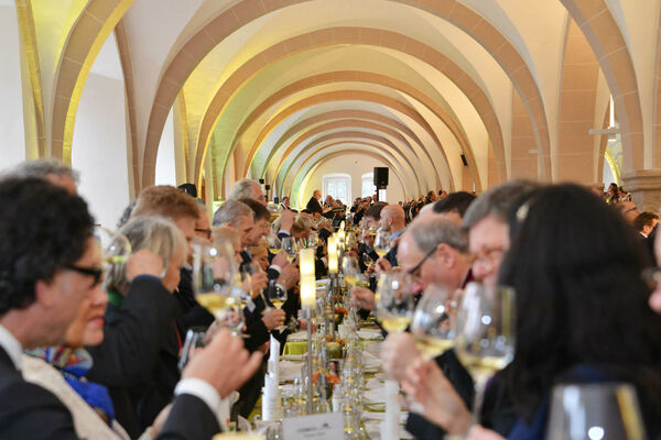 Riesling-Gala im Kloster Eberbach