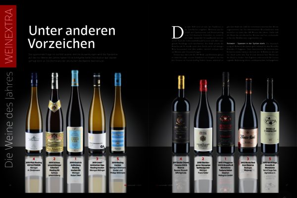 Once again the first place for our Kiedrich Gräfenberg Grosse Gewächs...