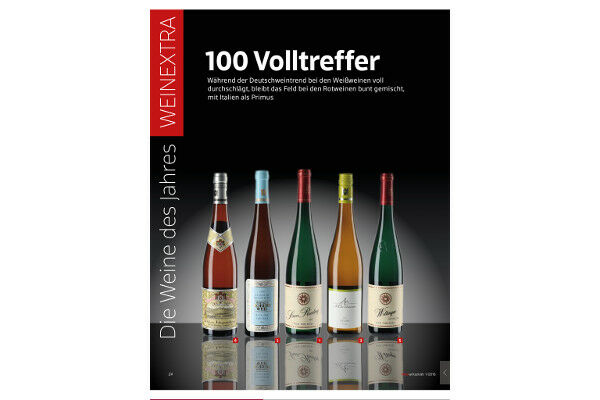 Our Gräfenberg Riesling GG - for years under the top 3 in the list of the top 50 white wines world wide! (Weinwirtschaft 01/18, Meiningers Weinwelt 02/18)